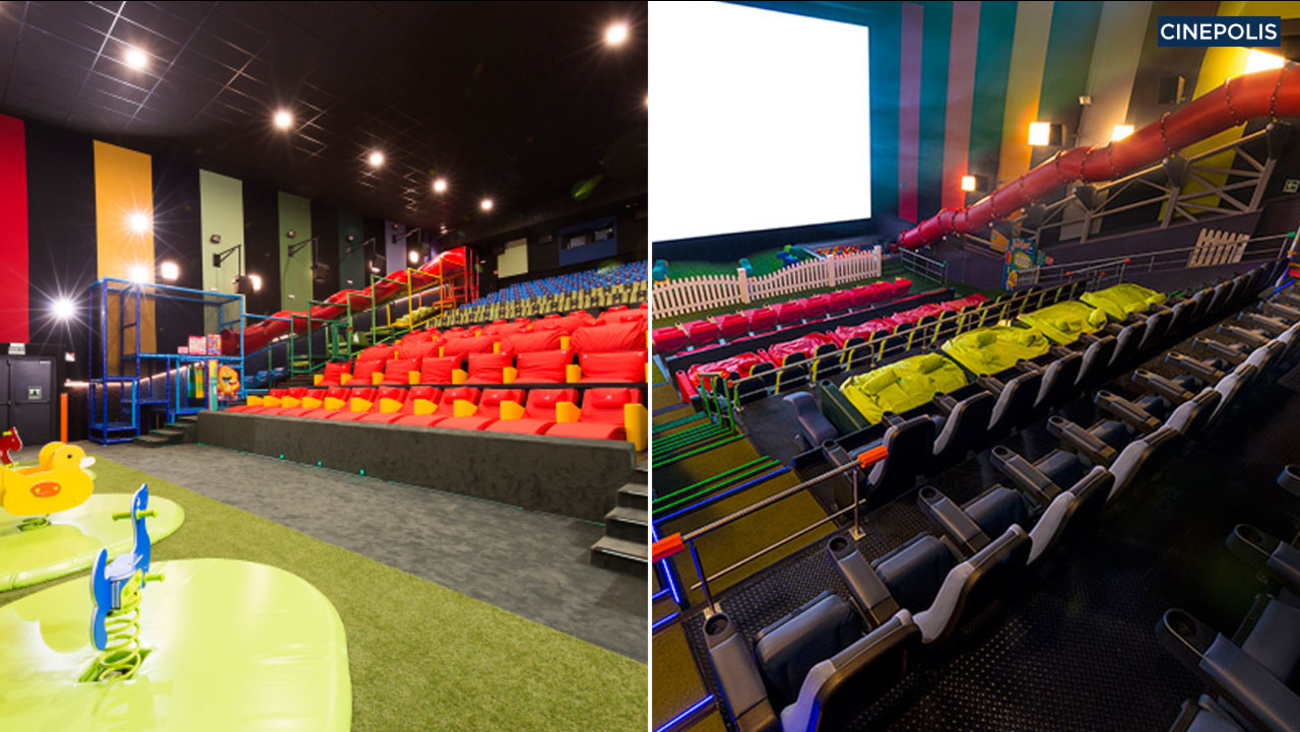 Cinepolis Junior theaters will be featured in Pico Rivera and Vista. The cinemas will offer children the opportunity to play on jungle gyms and bean bags.
