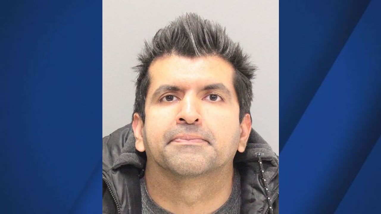 Raj Sanhi appears in his mugshot in Santa Clara, Calif. on March 8, 2017.