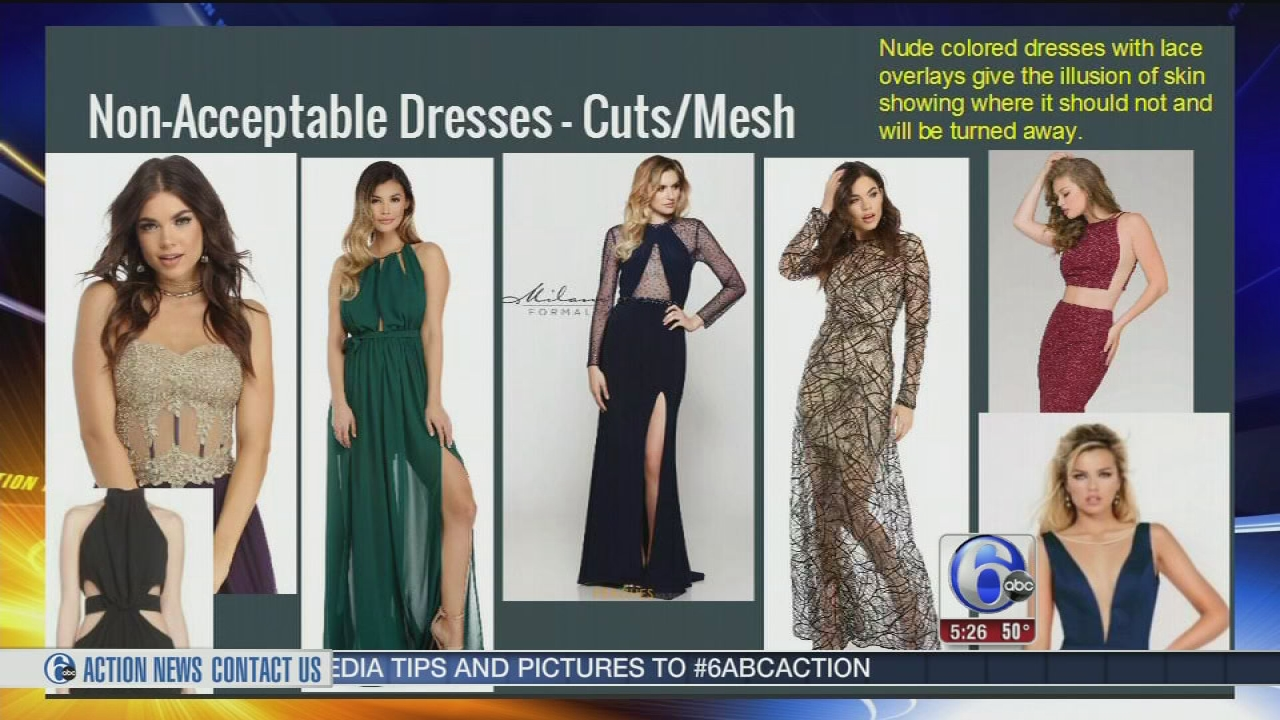 Prom dress guidelines lead to body shaming accusation | 6abc.com