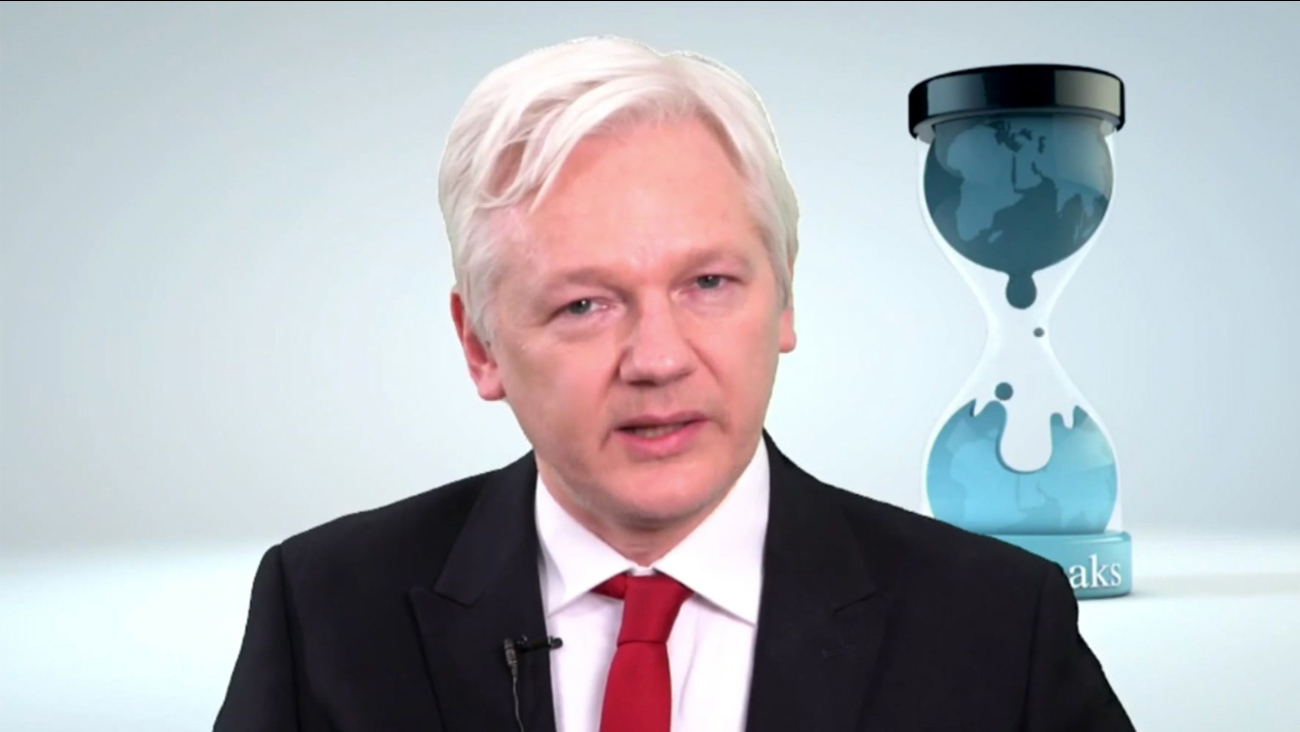 WikiLeaks founder Julian Assange speaks in this video made available Thursday, March 9, 2017.