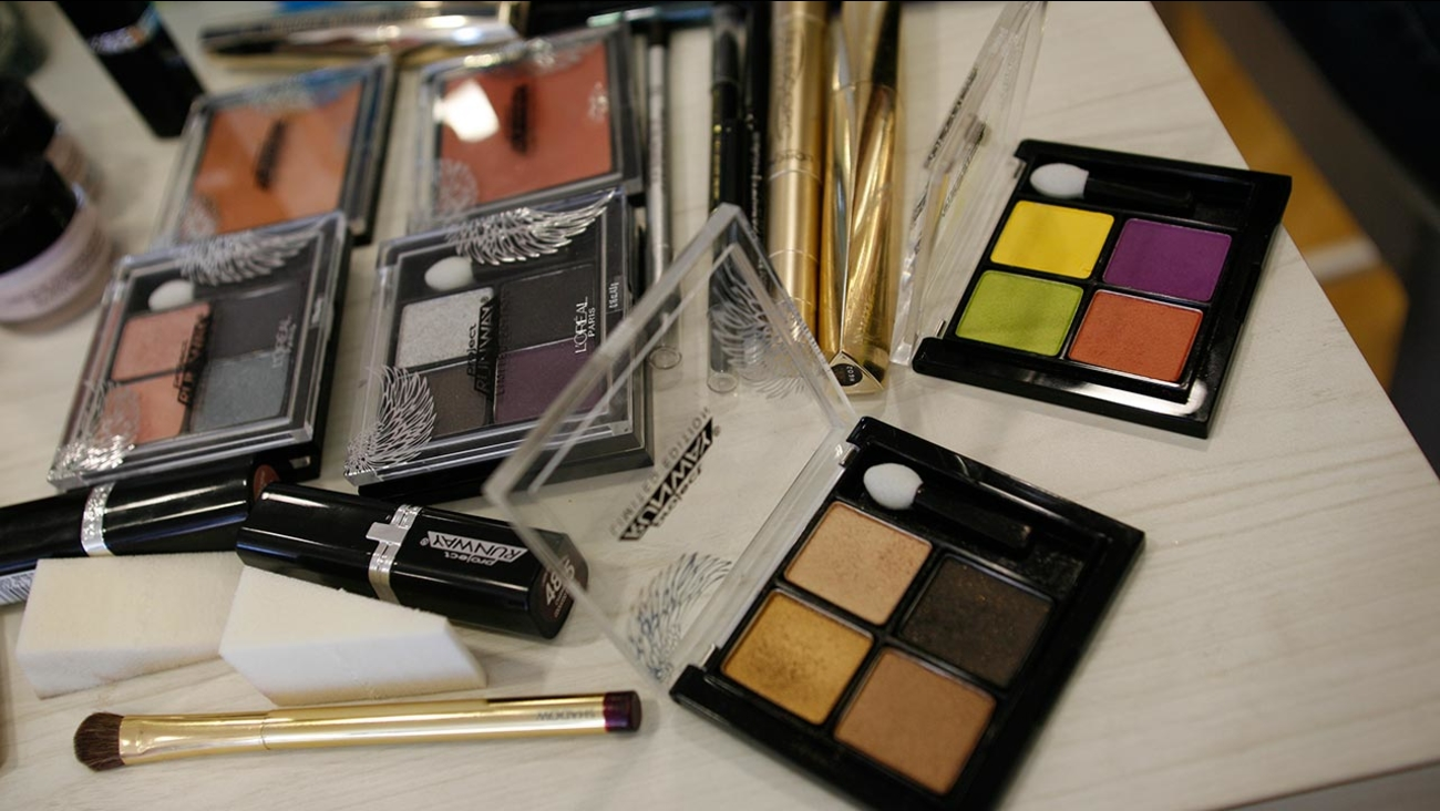 "FILE: ""Colors Take Flight"" cosmetics collection to customers during the event at ULTA"