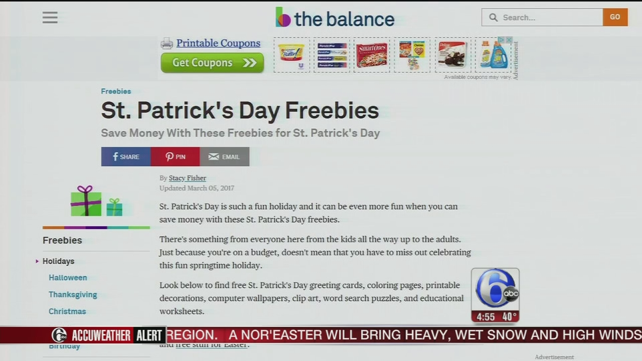 St Patricks Day Savings And Deals 6abc