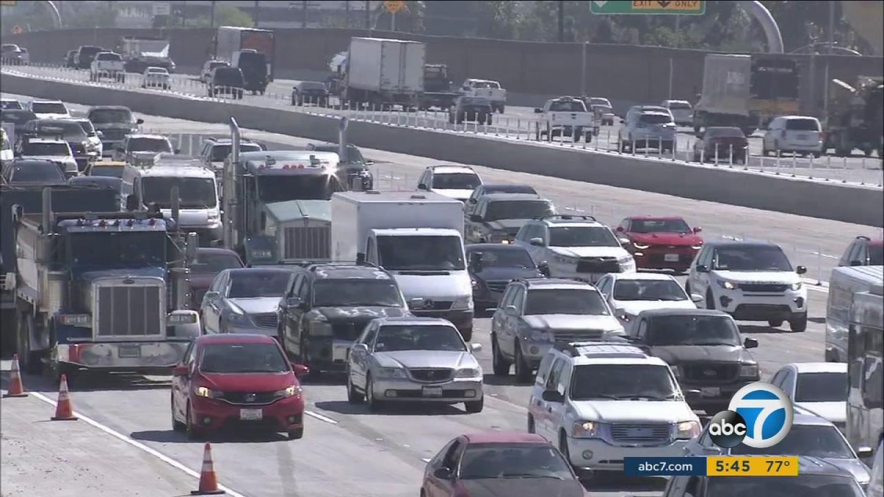 Traffic 91 Fwy - Control Traffic Foto In The Word