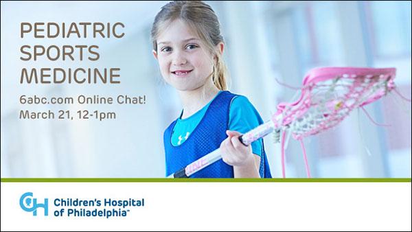 Chat with CHOP: Pediatric Sports Medicine | 6abc com