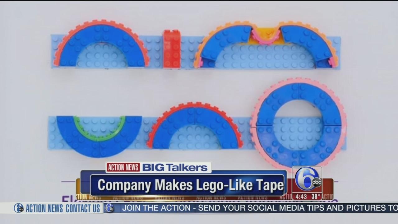 Company Crowdfunds Lego Like Tape 6abccom