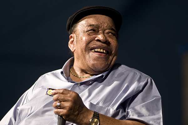 <div class='meta'><div class='origin-logo' data-origin='none'></div><span class='caption-text' data-credit='Ebet Roberts/Redferns/Getty Images'>Legendary blues harmonica player James Cotton has died at the age of 81 on March 16, 2017.</span></div>
