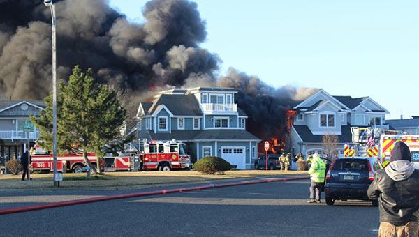 <div class='meta'><div class='origin-logo' data-origin='none'></div><span class='caption-text' data-credit=''>Pictured: Fire in Avalon, New Jersey on Friday, March 17.  Courtesy: Avalon Borough</span></div>