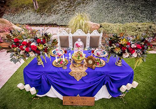 Picture-perfect 'Beauty and the Beast' wedding nailed every detail ...