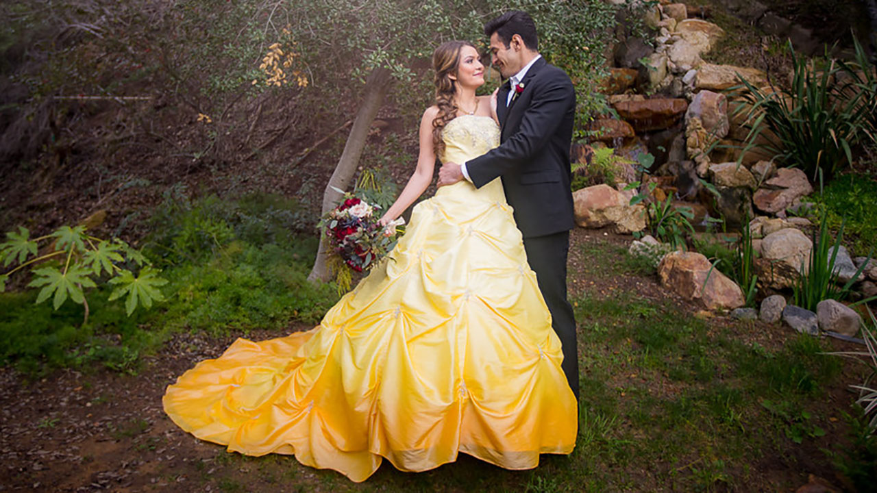 Picture Perfect Beauty And The Beast Wedding Nailed Every Detail Abc13