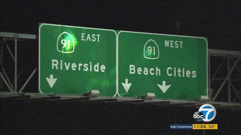 Toll lanes to open on 91 Fwy Monday morning in Corona