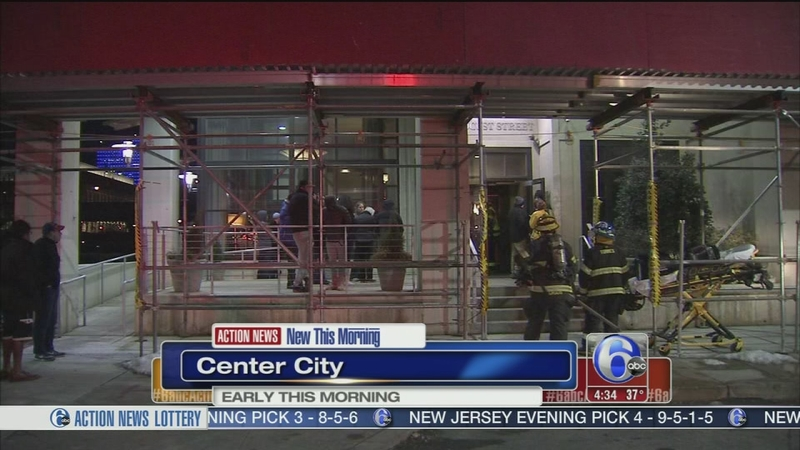 Elevator fire forces evacuation in Center City