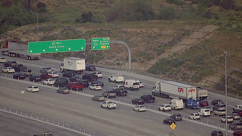 New, long-awaited express toll lanes open on 91 Freeway in Corona