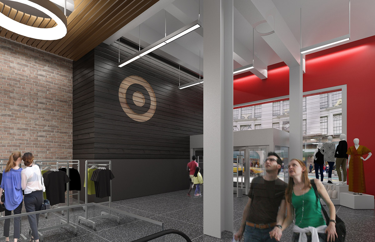 """<div class=""""meta image-caption""""><div class=""""origin-logo origin-image none""""><span>none</span></div><span class=""""caption-text"""">This rendering shows what it will look like inside the main (34th Street) entrance to the Target store in Midtown Manhattan. (Photo/Target)</span></div>"""