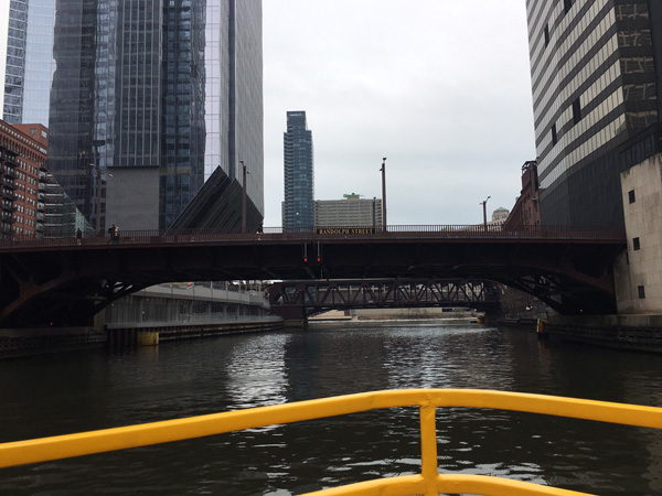 "<div class=""meta image-caption""><div class=""origin-logo origin-image wls""><span>WLS</span></div><span class=""caption-text"">Heading north on the Chicago River from the Chicago Water Taxi station at Madison Avenue.</span></div>"