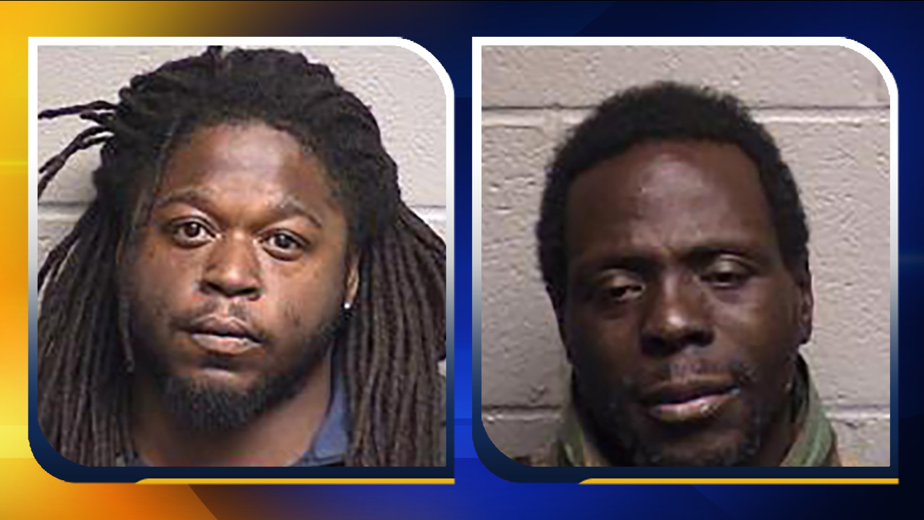 Micanthony Jermel McMillian, left, and Terrell Lamont Brown.