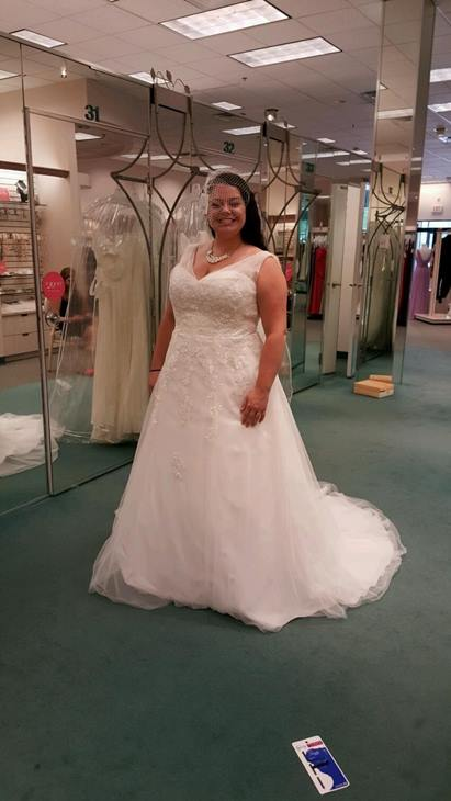 <div class='meta'><div class='origin-logo' data-origin='none'></div><span class='caption-text' data-credit='Credit: Natalie Gelbert'>Natalie Gelbert said her husband accidentally donated her wedding dress to Goodwill</span></div>