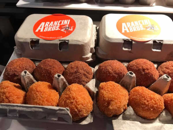 "<div class=""meta image-caption""><div class=""origin-logo origin-image none""><span>none</span></div><span class=""caption-text"">Sicilian Rice Balls at Arancini Bros.</span></div>"