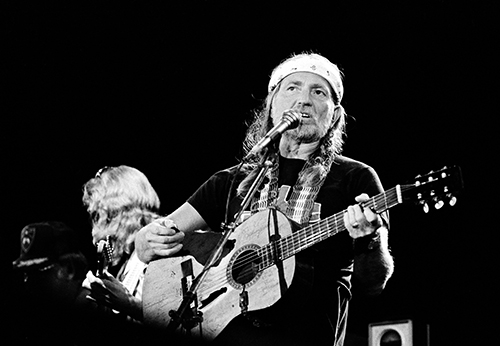<div class='meta'><div class='origin-logo' data-origin='AP'></div><span class='caption-text' data-credit='AP Photo/Michael Tweed'>Country singer Willie Nelson performs as the closing act at the US Festival in Devore, Ca., Saturday night, June 5, 1983.</span></div>