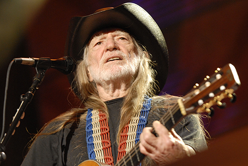 <div class='meta'><div class='origin-logo' data-origin='AP'></div><span class='caption-text' data-credit='AP Photo/Kyle Ericson'>Musician Willie Nelson performs during the Farm Aid Concert event Sunday, Oct. 4, 2009, in St. Louis.</span></div>