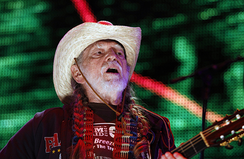 <div class='meta'><div class='origin-logo' data-origin='AP'></div><span class='caption-text' data-credit='AP Photo/Jacqueline Larma'>Willie Nelson performs during the Farm Aid 2012 concert at Hersheypark Stadium in Hershey, Pa., Saturday, Sept. 22, 2012.</span></div>