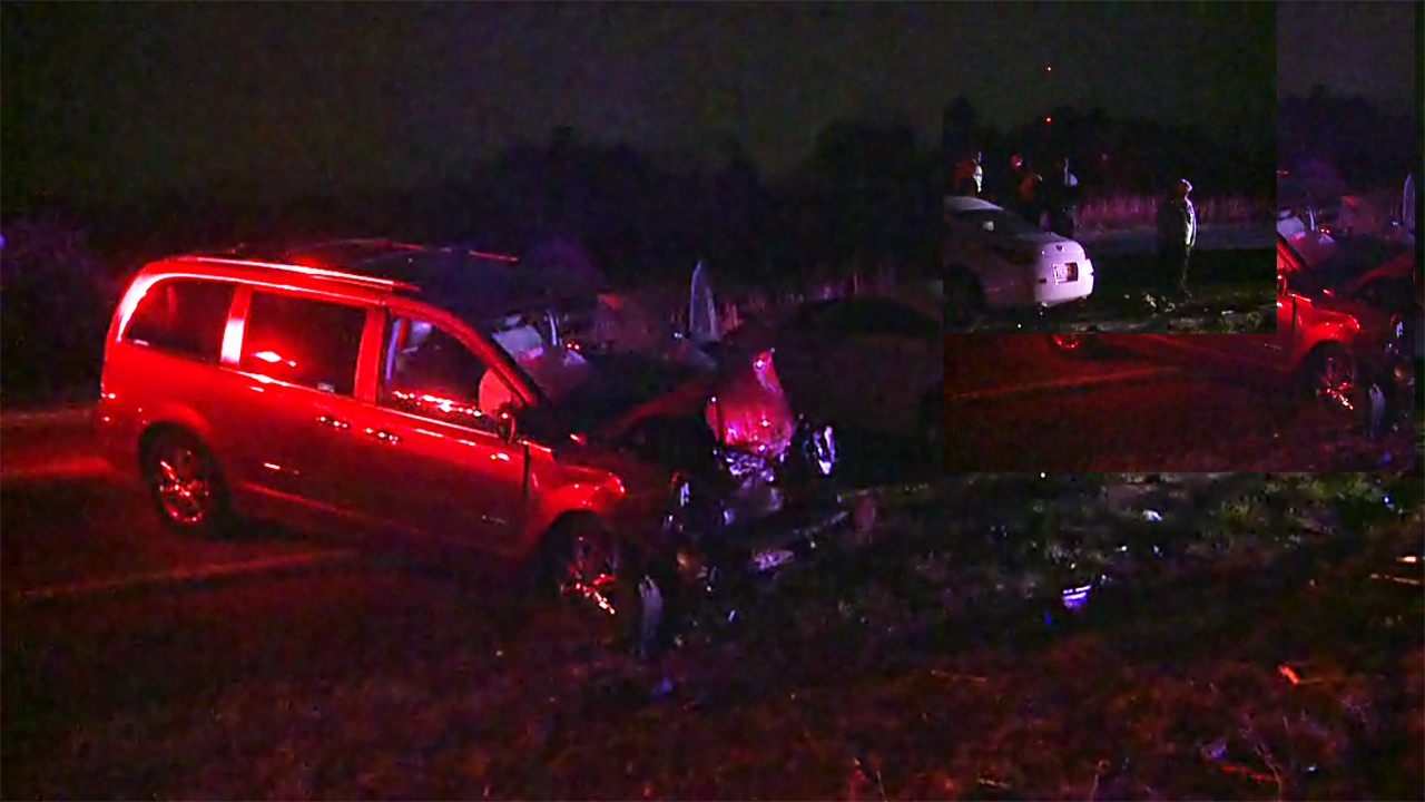 The driver of the white Nissan involved in this March 17 crash, Tyrone Holley, 44, of Durham, has died from his injuries.