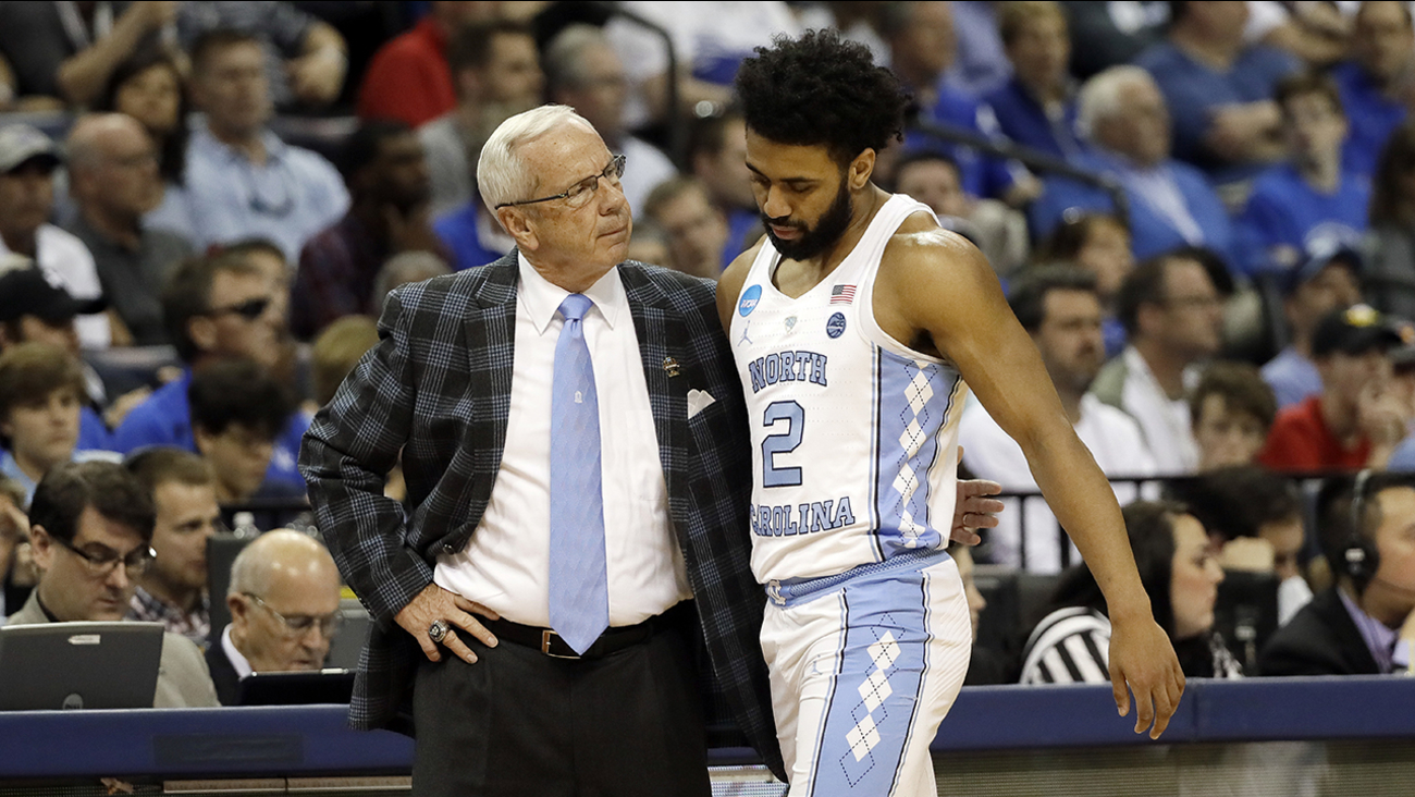UNC coach Roy Williams said Monday that point guard Joel Berry II may be limited in practice this week.