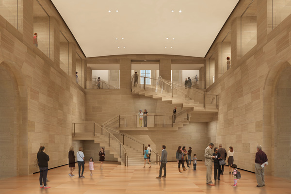<div class='meta'><div class='origin-logo' data-origin='none'></div><span class='caption-text' data-credit=''>Rendering of the Forum by Gehry Partners for the Philadelphia Museum of Art</span></div>