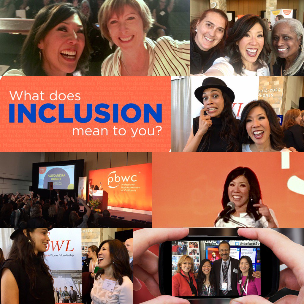 <div class='meta'><div class='origin-logo' data-origin='none'></div><span class='caption-text' data-credit='Twitter/@KristenSze'>Kristen Sze asks, &#34;What does inclusion mean to you?&#34; in this photo collage in honor of the Professional BusinessWomen Conference's VIP event in San Francisco on March, 27, 2017.</span></div>
