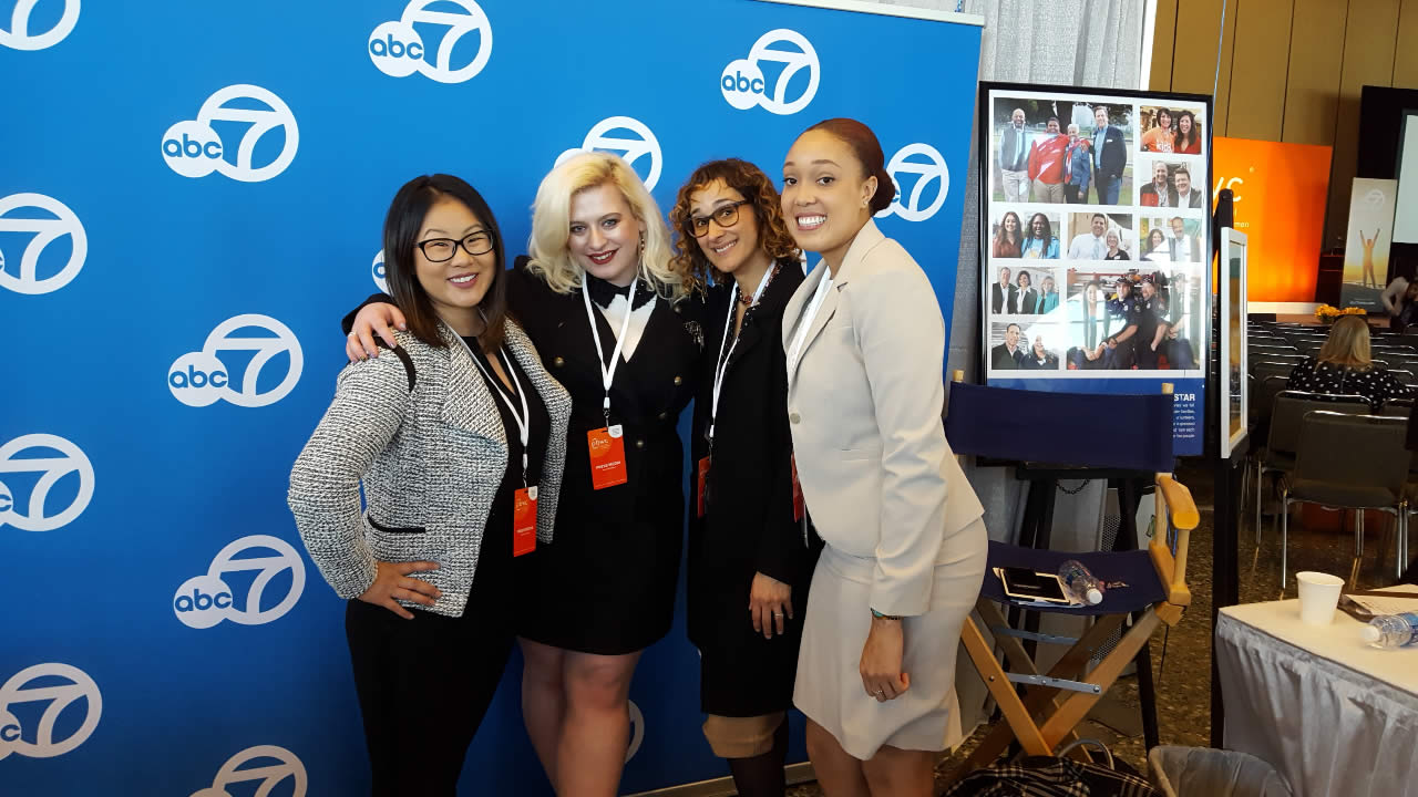 "<div class=""meta image-caption""><div class=""origin-logo origin-image none""><span>none</span></div><span class=""caption-text"">ABC7's Digital News staff at the Professional BusinessWomen of California Conference in San Francisco on March, 28, 2017. (KGO-TV)</span></div>"