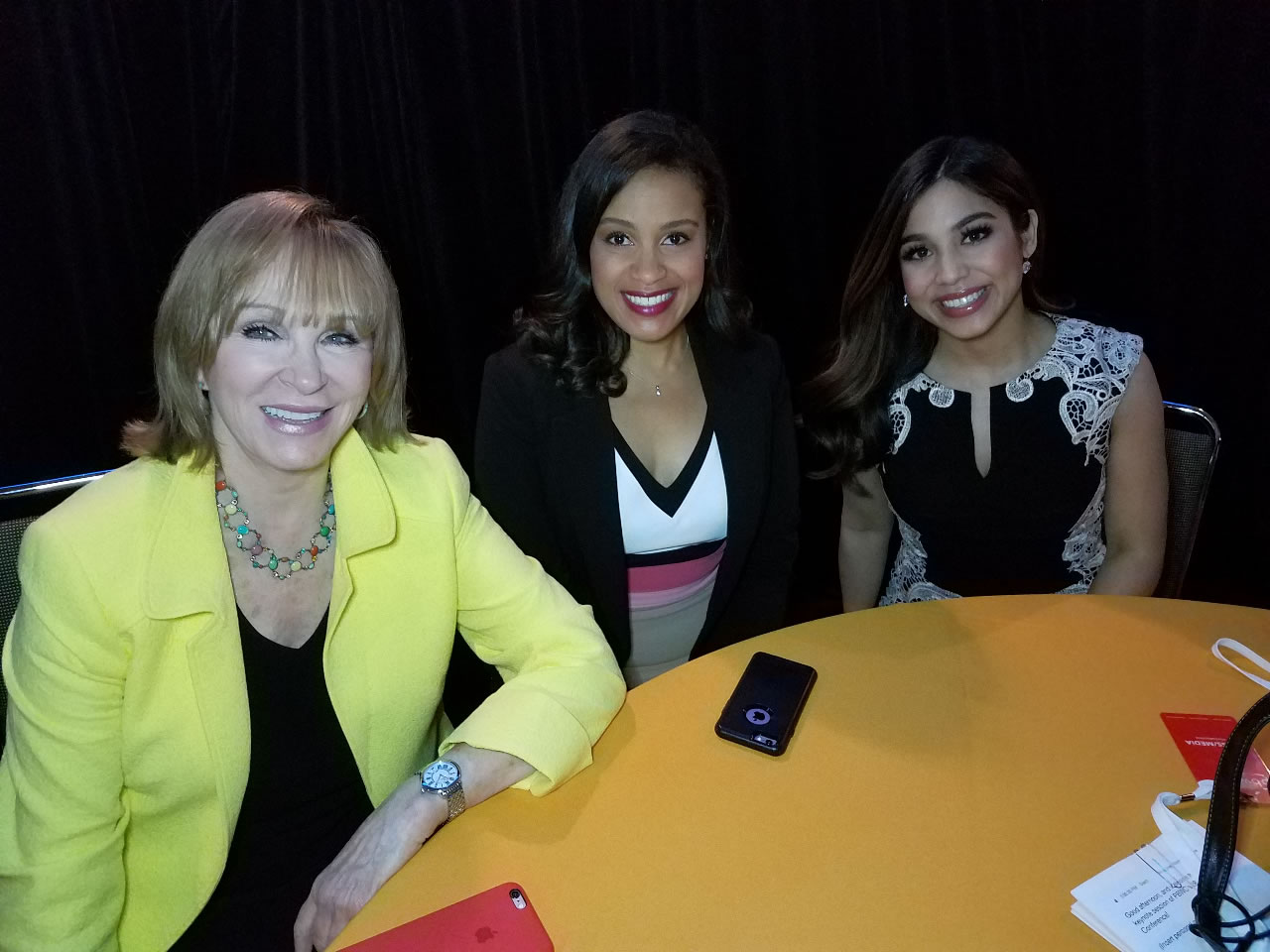 <div class='meta'><div class='origin-logo' data-origin='none'></div><span class='caption-text' data-credit='KGO-TV'>ABC7's Cheryl Jennings, Ama Dates and Ntashe Zouves at the Professional BusinessWomen of California Conference in San Francisco on March, 28, 2017.</span></div>