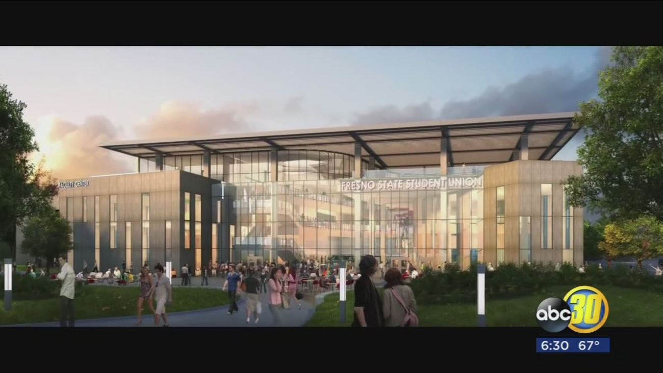 Students at Fresno State to vote on whether a new $80-million student union will be built