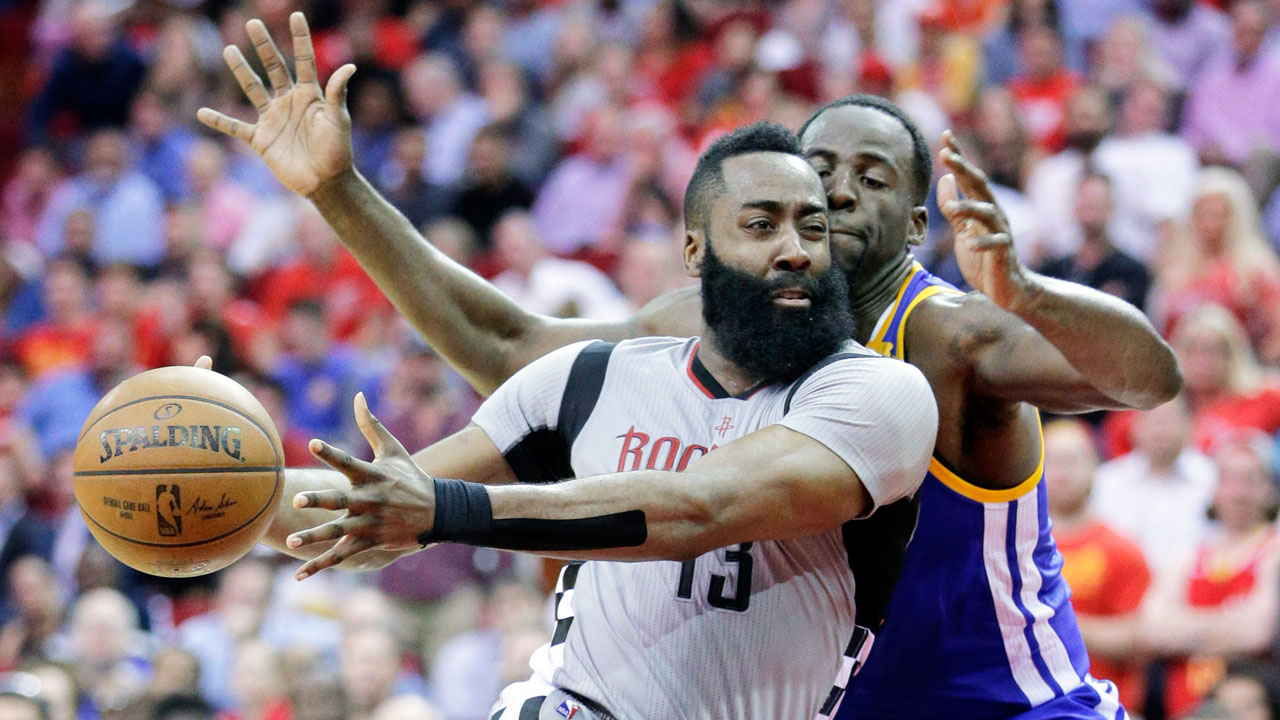 Rockets-Warriors in Houston