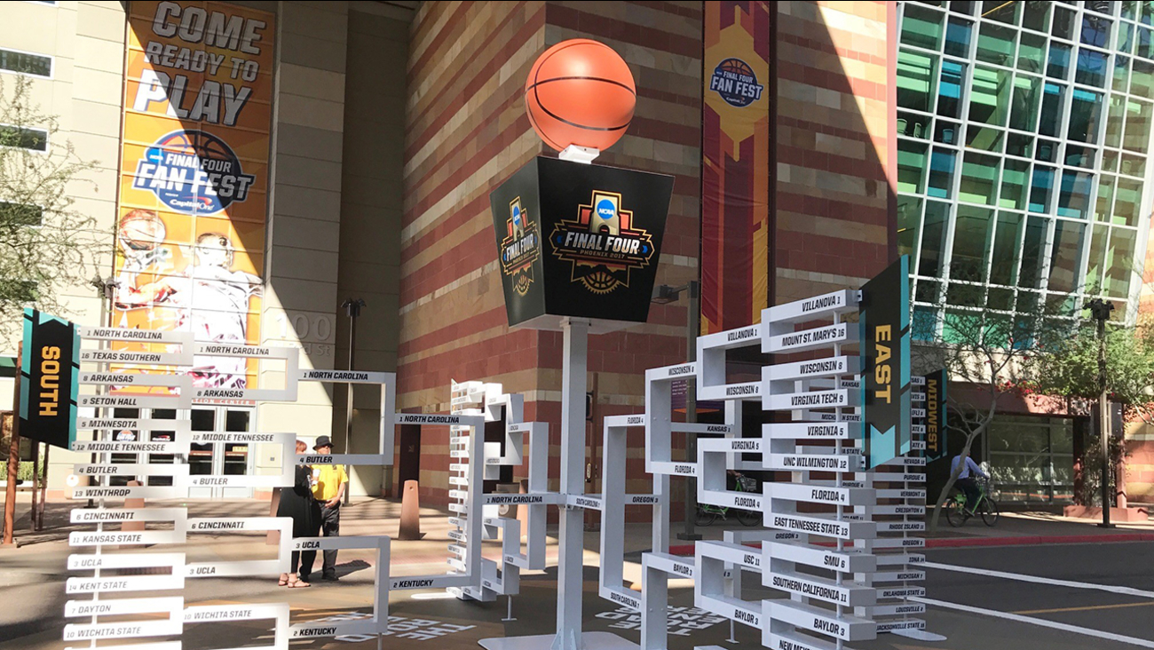 Phoenix prepares for Final Four weekend