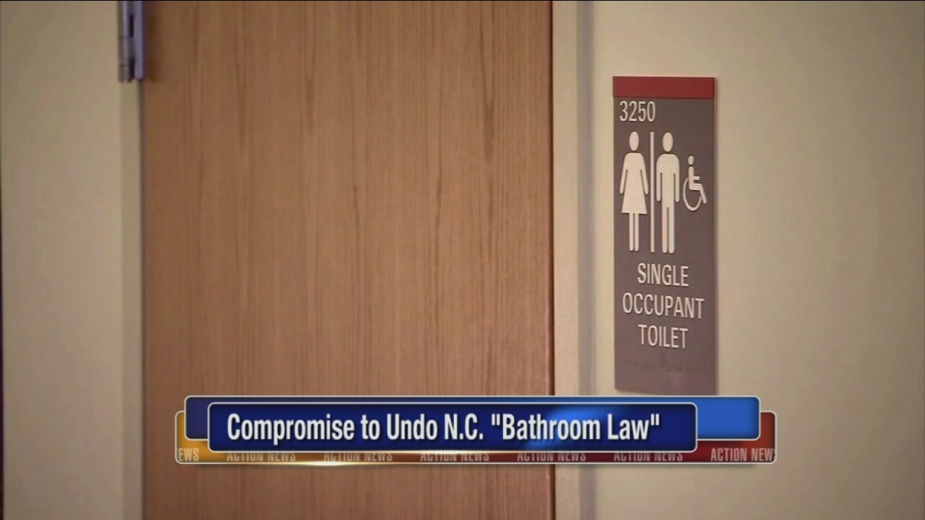 Compromise to undo 'bathroom law' passes key hurdle