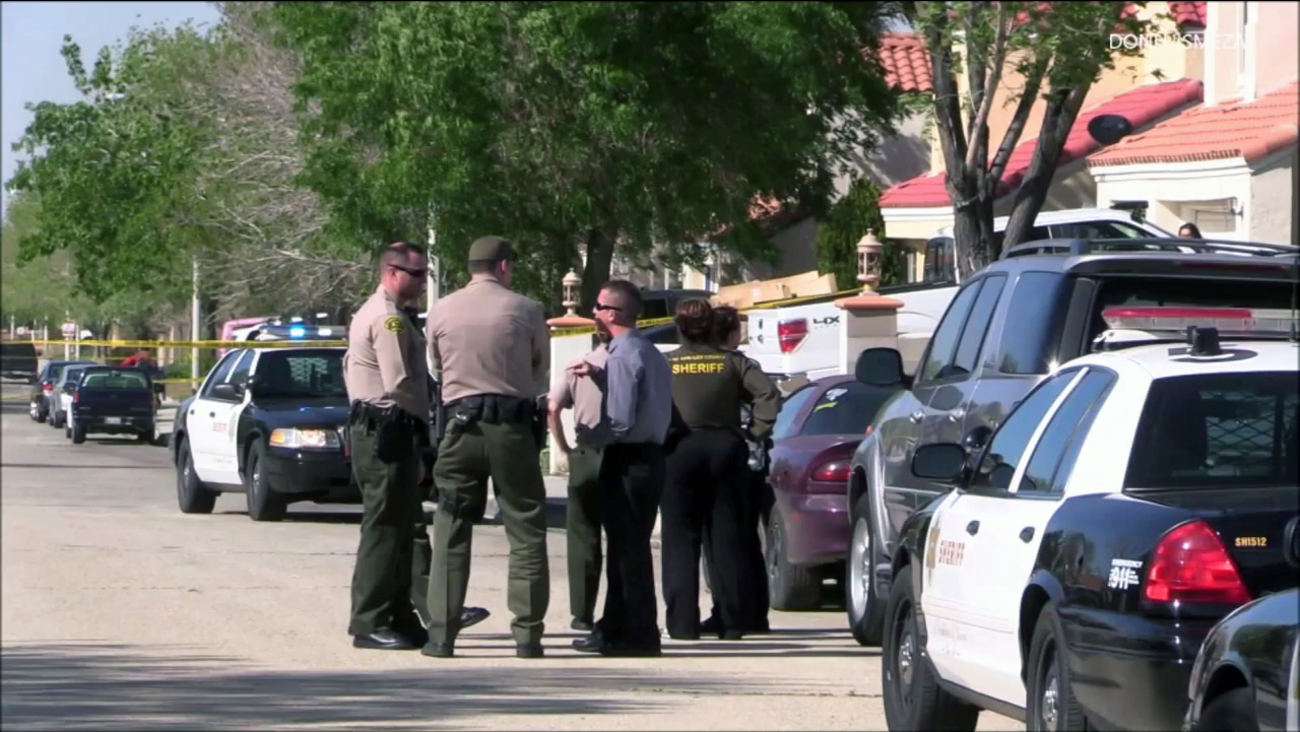 Deputies said Richard Flores, 29, killed his grandmother and injured his mother during a stabbing in the 37000 block of Springfield Street in Palmdale on Thursday, March 30, 2017.