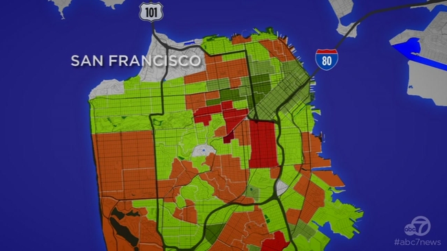 Analysis Why Empty Storefronts Line San Francisco S Castro