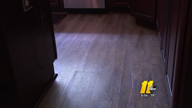 Damage to nd new purchase floors Henderson homeowner | abc11.com on home depot knoxville, home depot sarasota, home depot germantown, home depot san leandro, home depot mascot, home depot asheville,
