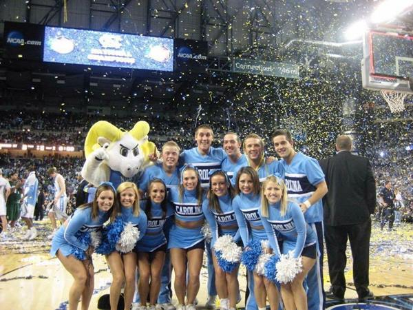 """<div class=""""meta image-caption""""><div class=""""origin-logo origin-image none""""><span>none</span></div><span class=""""caption-text"""">Immediately following North Carolina's victory over Michigan State to become the 2009 NCAA Men's Basketball National Champions (Credit: Andrea Blanford)</span></div>"""