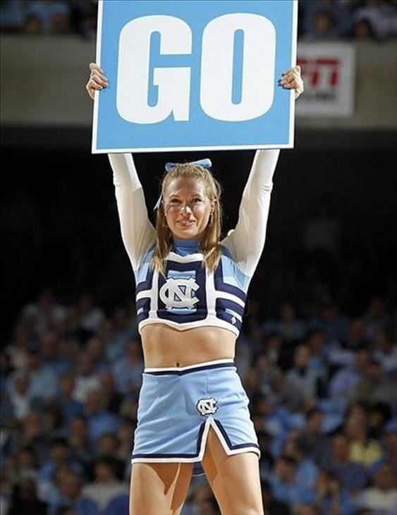 """<div class=""""meta image-caption""""><div class=""""origin-logo origin-image none""""><span>none</span></div><span class=""""caption-text"""">UNC cheerleader at a Final Four pep rally in Detroit (Credit: Andrea Blanford)</span></div>"""