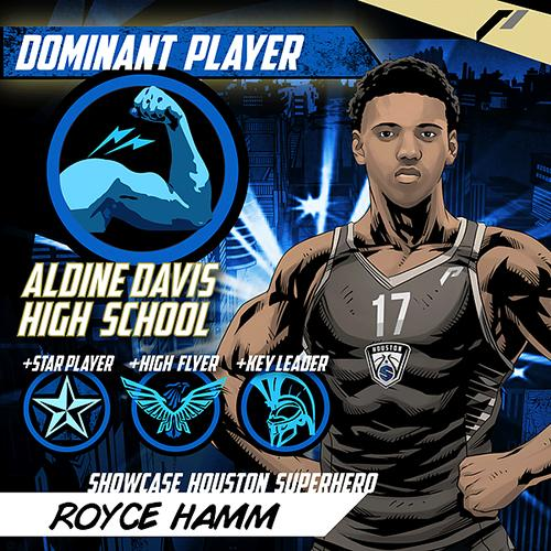 <div class='meta'><div class='origin-logo' data-origin='none'></div><span class='caption-text' data-credit='Showcase Houston'>Meet Royce Hamm of Aldine Davis High School.</span></div>