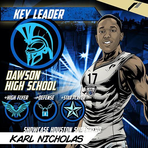 <div class='meta'><div class='origin-logo' data-origin='none'></div><span class='caption-text' data-credit='Showcase Houston'>Meet Karl Nicholas of Dawson High School.</span></div>