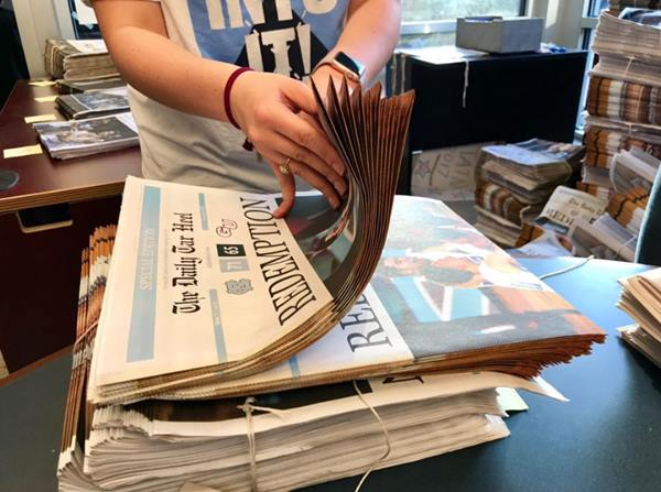 "<div class=""meta image-caption""><div class=""origin-logo origin-image none""><span>none</span></div><span class=""caption-text"">The Daily Tar Heel made 40,000 copies for the win (Credit: Anthony Wilson)</span></div>"