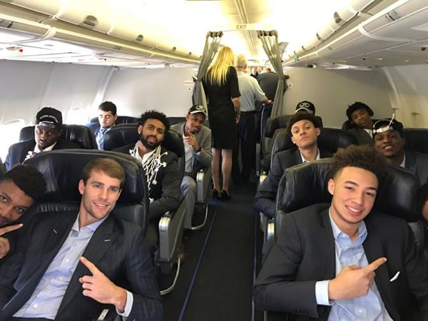 "<div class=""meta image-caption""><div class=""origin-logo origin-image none""><span>none</span></div><span class=""caption-text"">UNC Tar Heels board their flight to return home (Credit: UNC Basketball/ Twitter)</span></div>"