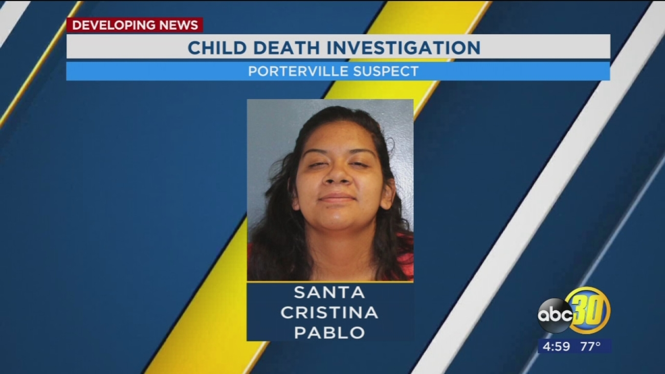 Aunt of 4-year-old girl in Porterville arrested for allegedly intentionally suffocating her