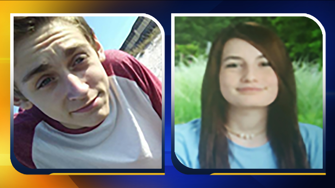 Nathan Royalty, left, and Alyssa Parsons.