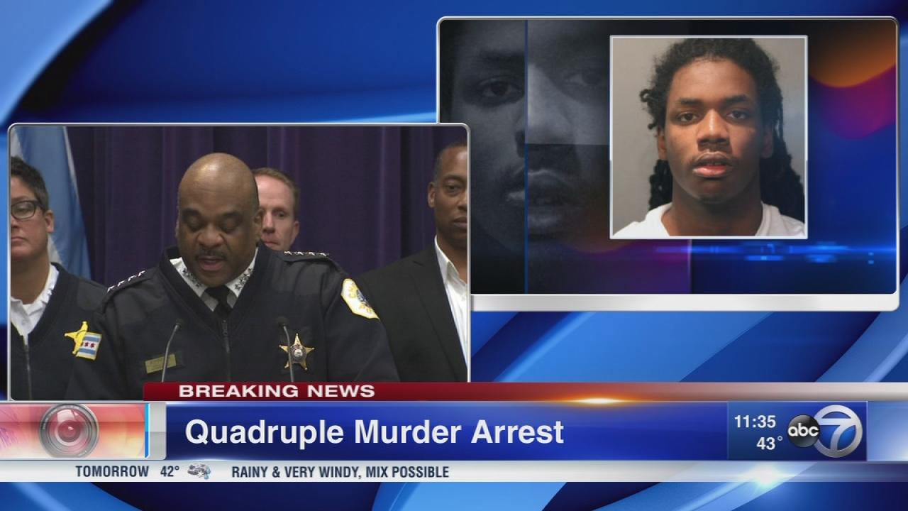 South Shore quadruple murder possibly revenge for father's death