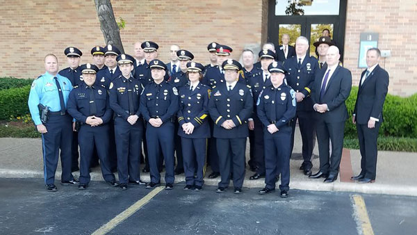 <div class='meta'><div class='origin-logo' data-origin='none'></div><span class='caption-text' data-credit='Olmo Carlos'>Chief of police from across the U.S. and Canada have made their way to Houston for Asst. Chief Deputy Clint Greenwood's funeral.</span></div>