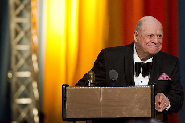 <div class='meta'><div class='origin-logo' data-origin='Creative Content'></div><span class='caption-text' data-credit='AP Photo/Charles Sykes, File'>In this April 28, 2012 file photo, Don Rickles appears onstage at The 2012 Comedy Awards in New York. The Friars Club is honoring Rickles with a lifetime achievement award.</span></div>