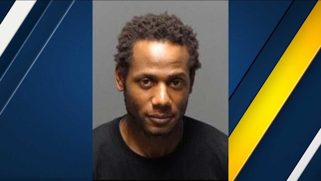 Ronald Douglas, 33, is seen in a booking photo from the Los Angeles County Sheriff's Department.