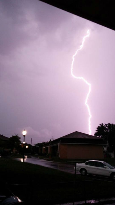 """<div class=""""meta image-caption""""><div class=""""origin-logo origin-image """"><span></span></div><span class=""""caption-text"""">Lightning and heavy rains hit the Philadelphia area on July 14, 2014. (Fred Turtle from Berlin NJ / Facebook)</span></div>"""